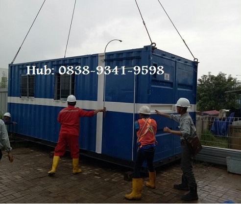 Pengiriman Container Office Ke Dawuan