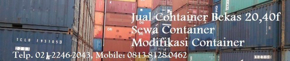 Container Bekas Jakarta