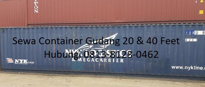 Sewa Container Dry Untuk Gudang
